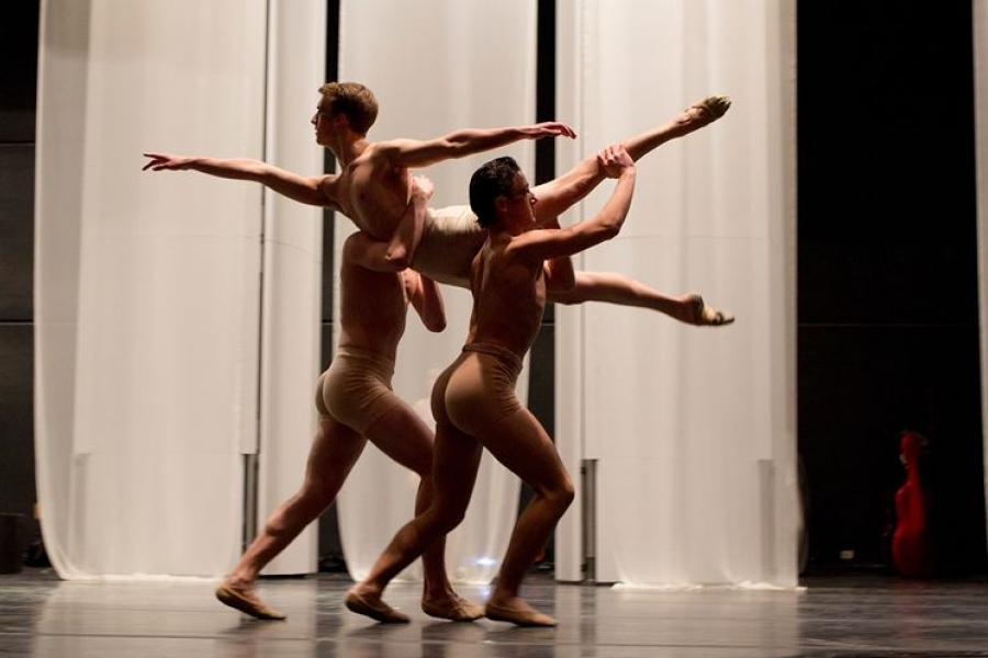Interlochen Arts Camp alumni dance at juilliard
