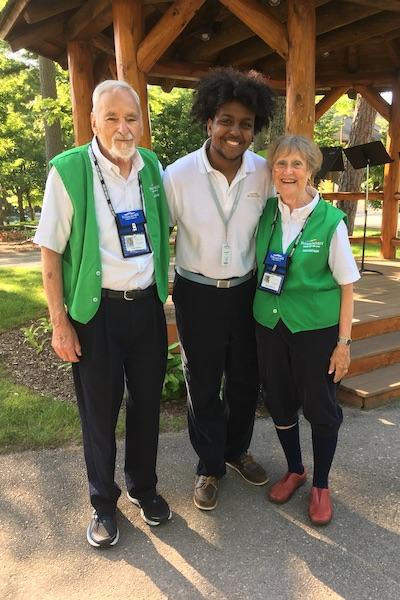 volunteers at interlochen center for the arts