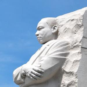 MLK Memorial Statue in Washington DC
